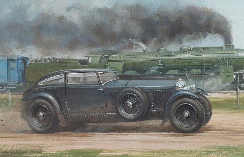 Bentley и Голубой поезд