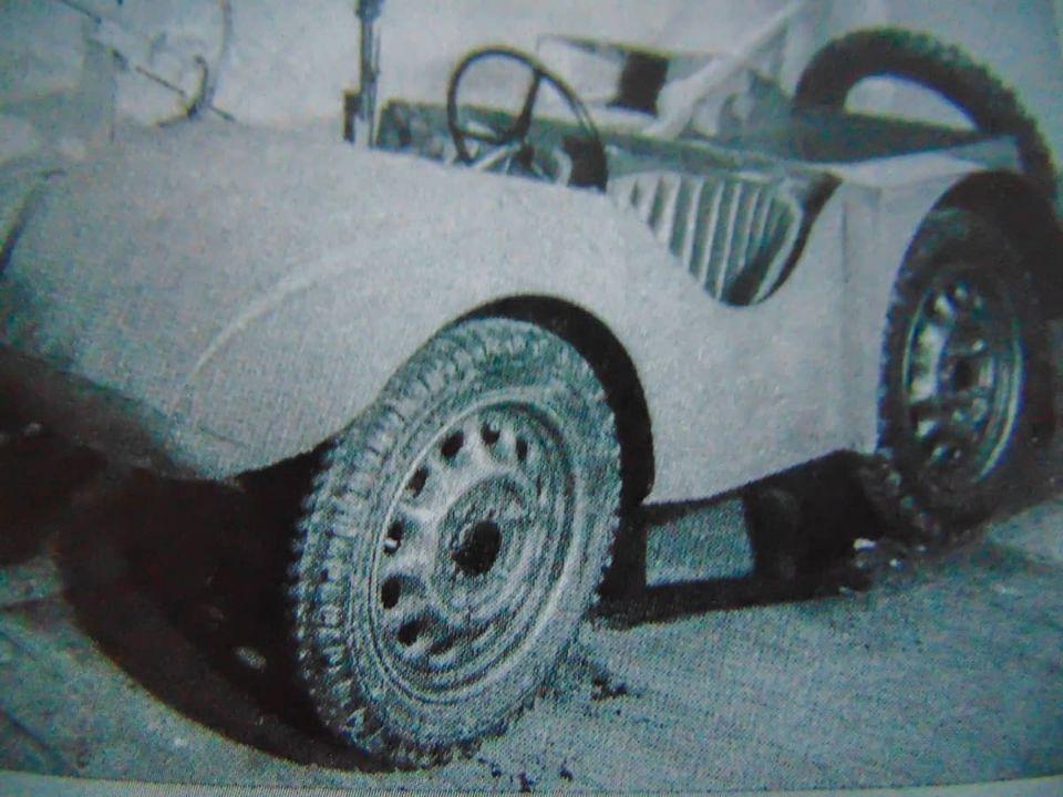 Разведывательный автомобиль Великобритании SS VA