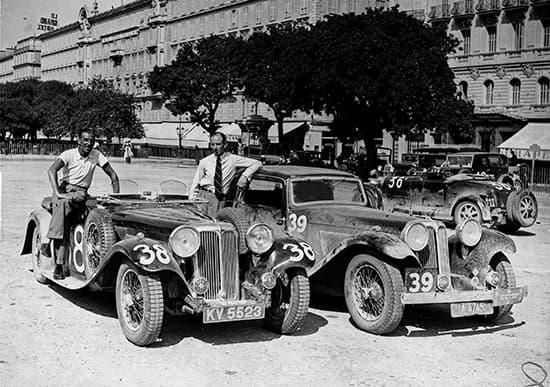SS 1 - Alpine Trial 1933