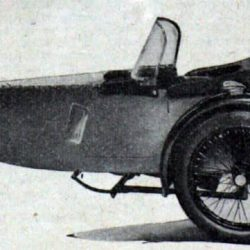 Swallow Sidecar model 10 Standard Launch вырезка 1937 года