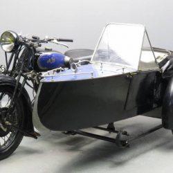 Фотография Swallow Sidecar model 11 De Luxe Launch