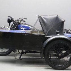 Swallow Sidecar модель 11 De Luxe Launch