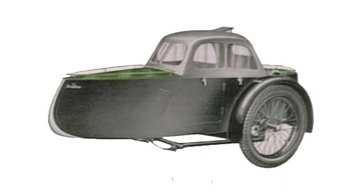 Swallow Sidecar model 11a Aero Launch Coupe