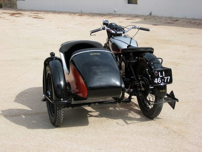 Swallow Sidecar модель 14 Donington Special