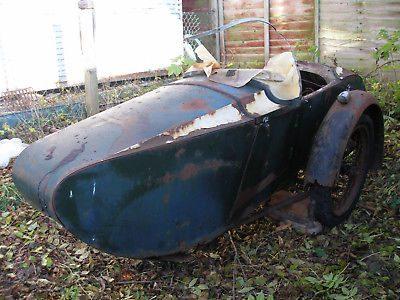 Swallow Sidecar model 9d De Luxe Touring Model