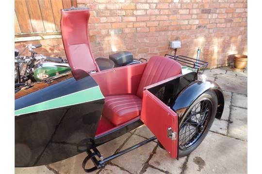 Салон Swallow Sidecar model 9d De Luxe Touring Model