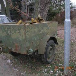 British Airborne trailer No1 Mk2