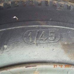 British Airborne Trailer No1 Mk2 Tyres