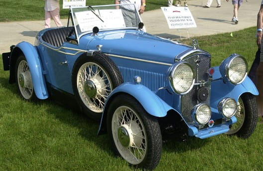 Wolseley Hornet Swallow 2 seater