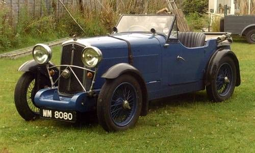 Wolseley Hornet Swallow 4 seater