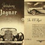 Introducing the Jaguar 1938 Range - Magazine flyer