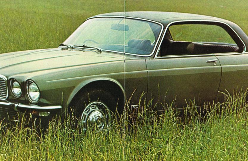 Jaguar XJ6C рекламный буклет