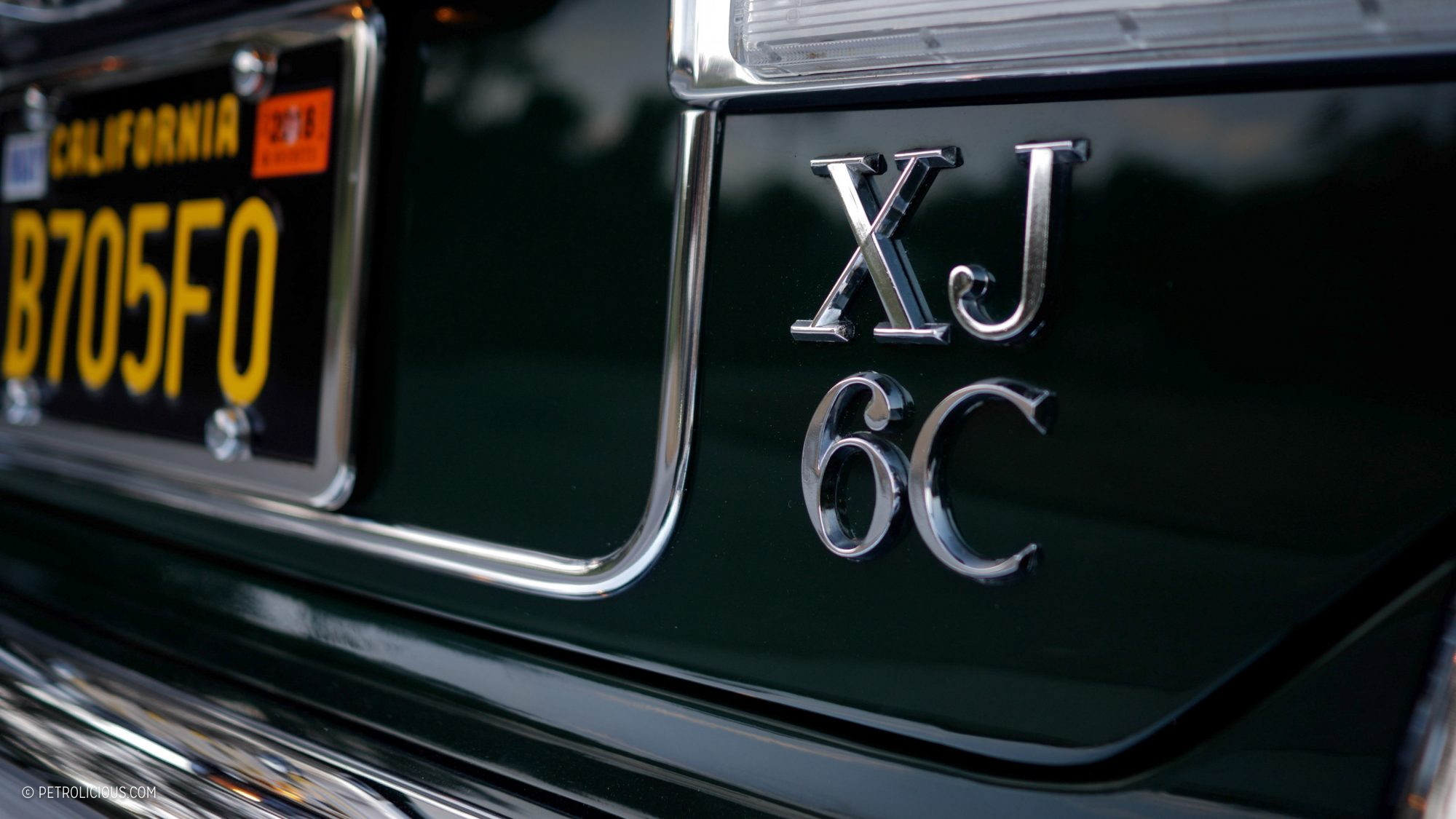 Jaguar XJ6C название модели