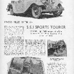 S.S.1 Sports Tourer - The Motor - 1935