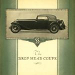SS 1 Drop Head Coupe - catalogue 1935
