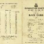 SS car club's Donington race meeting 1937