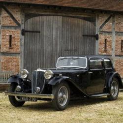 Early Jaguar SS 1 Saloon