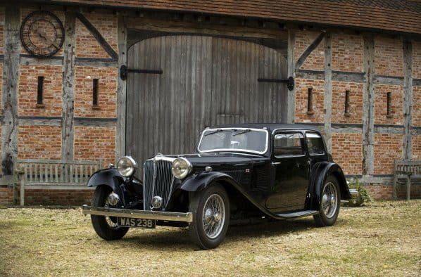 Early Jaguar SS 1 Saloon