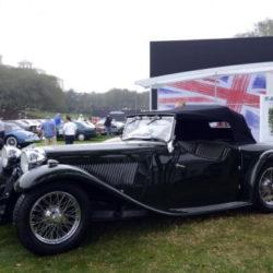 First Jaguar roadster