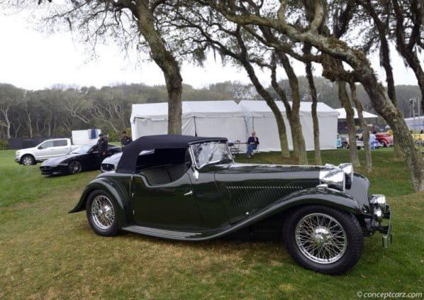 First Jaguar Sport Car