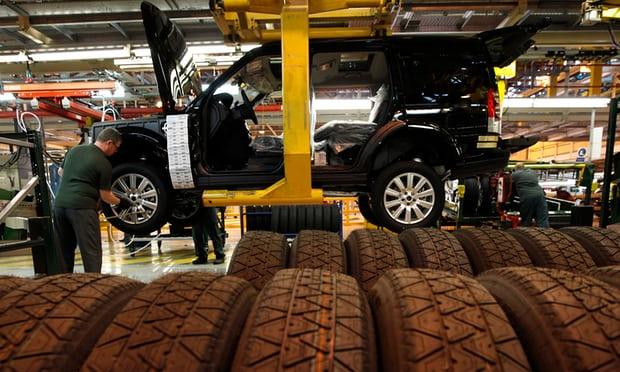 Jaguar Land Rover завод в Солихалле