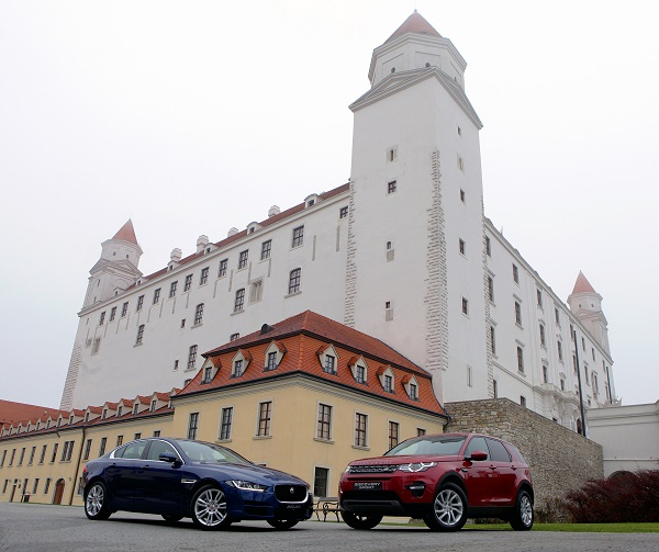 Jaguar Land Rover в Словакии