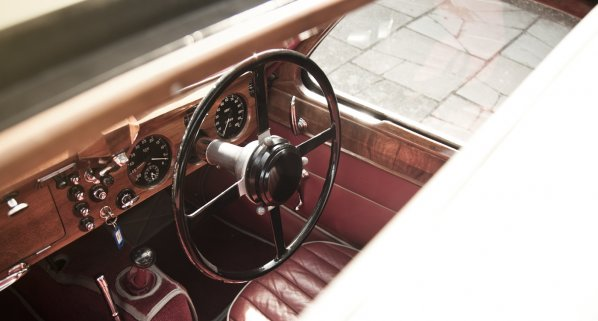 Jaguar SS 100 Coupe Interior