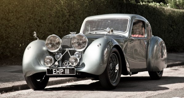 Jaguar SS 100 Fixed Head Coupe