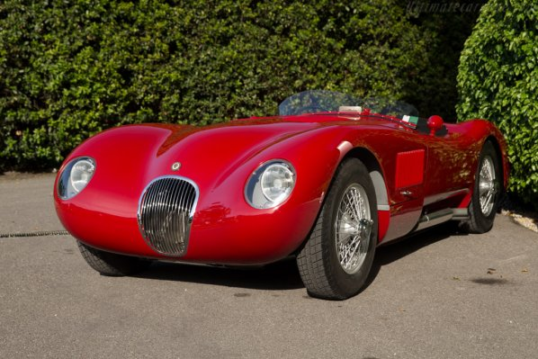 Red Jaguar C-Type