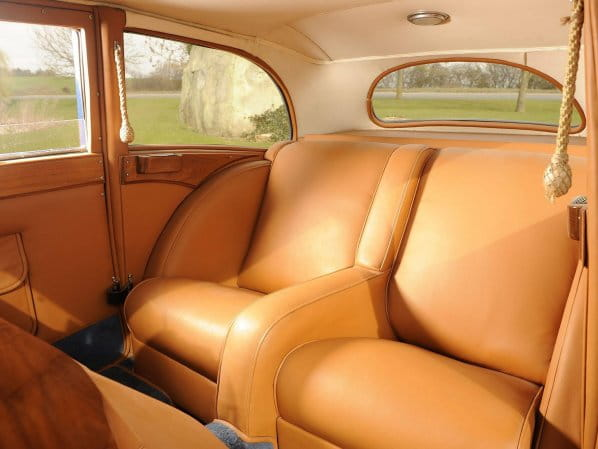 SS 1 Airline Coupe Interior