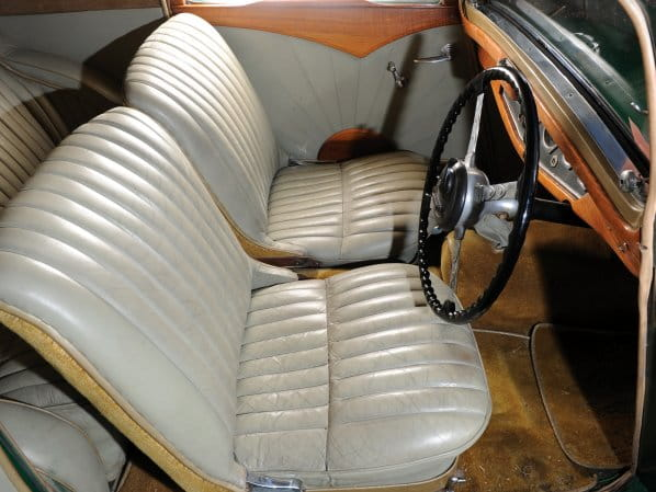 SS 1 Coupe Interior