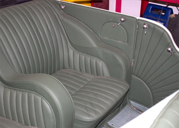 SS 1 Open Four Seater seats