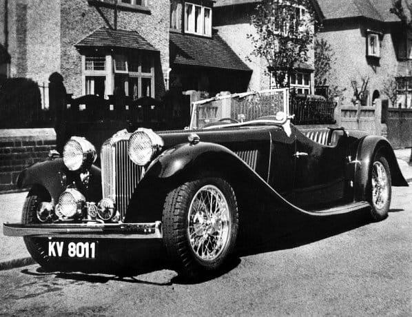 SS 1 Walmsley Roadster