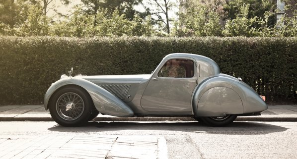 SS Jaguar 100 Coupe (Fixed Head Coupe)