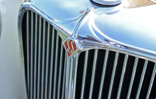 SS 2 Radiator Emblem