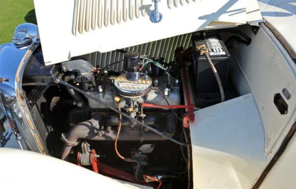 SS 2 Tourer Engine