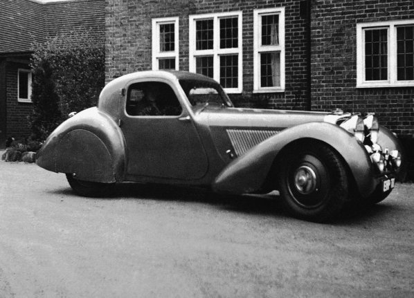 SS Jaguar 100 Coupe