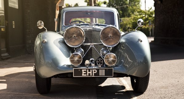 SS Jaguar 100 Fixed Head Coupe