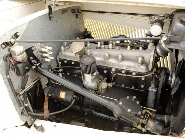 SS1 Open Four Seater Engine