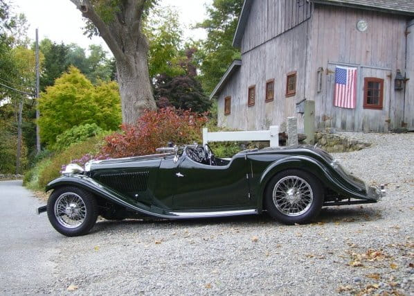 SS1 Walmsley Roadster