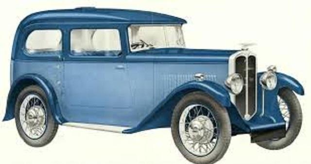 Fiat Swallow синий и голубой