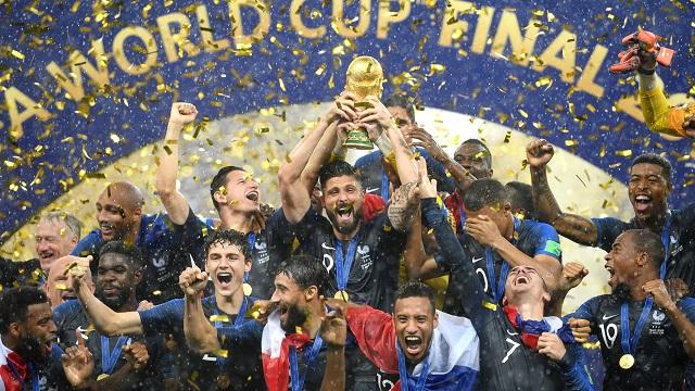 France Team чемпион мира