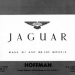 Jaguar B-W catalogue 1952
