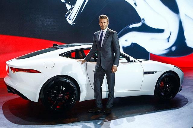 Jaguar F-Type Дэвид Бекхэм