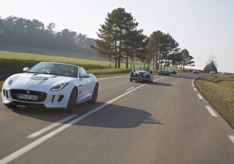 Кабриолет Jaguar F-Type