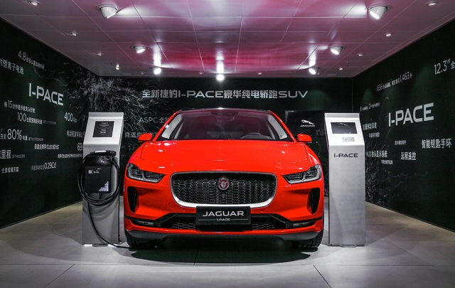 Jaguar IPACE автосалон Шанхай