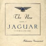 Jaguar Mk V DHC catalogue 1948