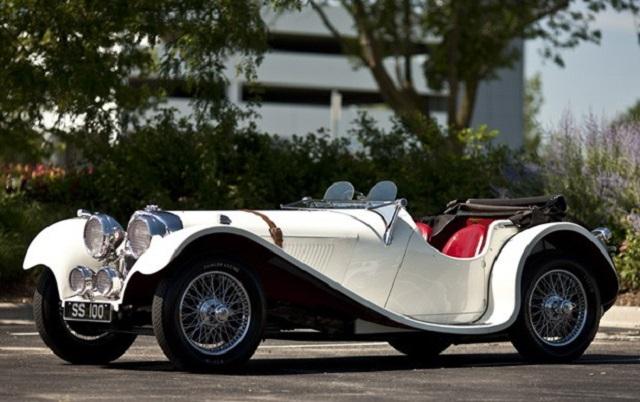Jaguar 100 аукцион в Гудинге 2010 год