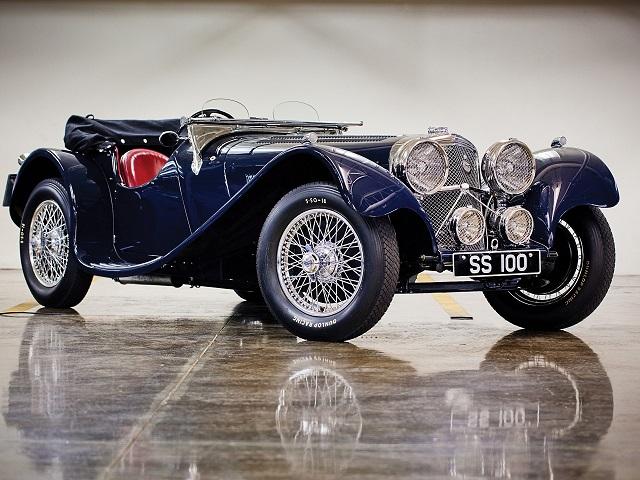 Jaguar 100 аукцион в Монтерее
