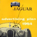 Jaguar advertising plan 1954
